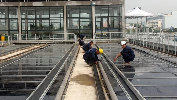 Vận hành nhà máy xử lý nước thải sử dụng năng lượng mặt trời đầu tiên ở TP.HCM