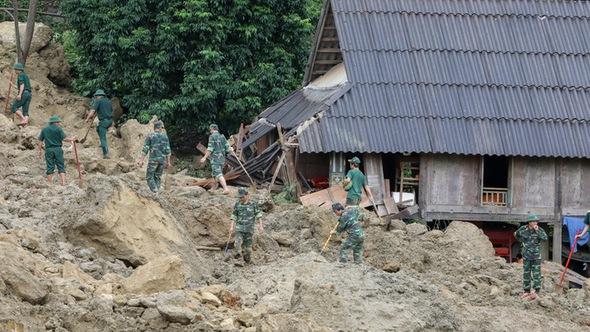 Bộ Công an quyết tìm 9 nạn nhân bị vùi lấp tại Hòa Bình