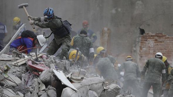 Thế giới trong tuần qua ảnh: động đất liên tiếp ở Mexico