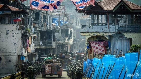 Philippines chiếm căn cứ chỉ huy phiến quân tại Marawi