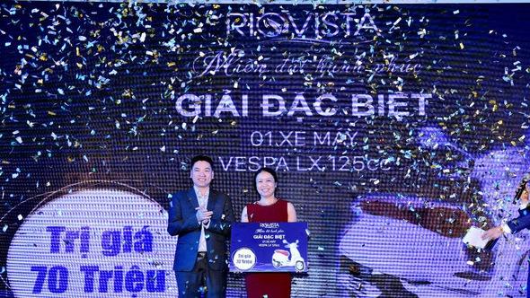 Cháy hàng trong lễ công bố 'Miền đất hạnh phúc' RioVista