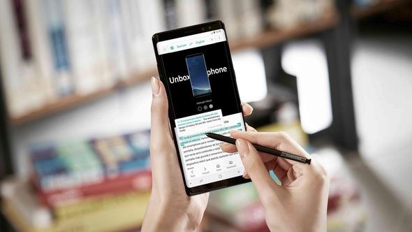 Galaxy Note 8 và iPhone X: Tuyệt đỉnh tranh tài