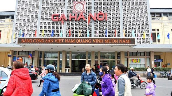 Đề xuất xây khu ga Hà Nội thành khu đô thị hiện đại kiểu Nhật