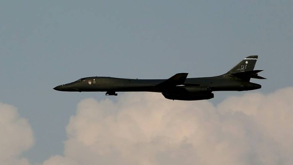Máy bay ném bom Mỹ tập trận cùng Hàn Quốc, Nhật