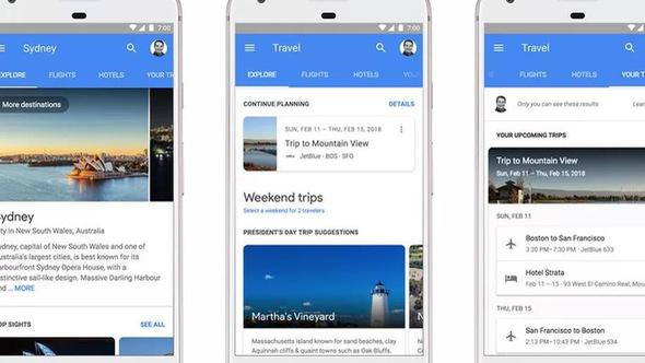 Google giúp bạn đặt phòng và chuyến bay trên kết quả tìm kiếm