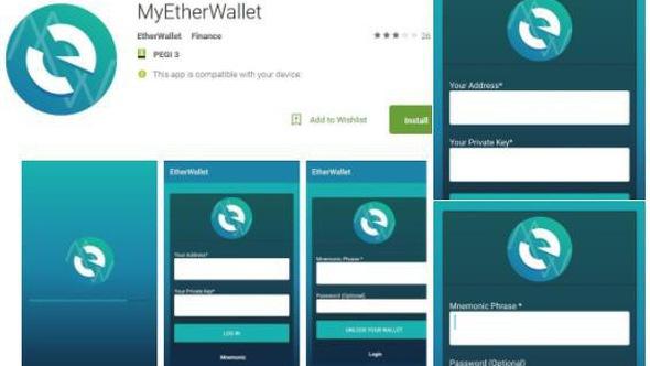 Hacker tạo app giả để trộm tiền điện tử Ethereum