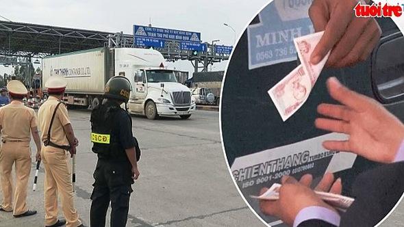Tài xế lại dùng tiền lẻ mua vé, BOT Nam Bình Định xả trạm