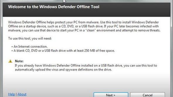 Diệt virus khi khởi động Windows