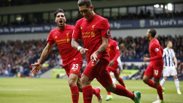 """Firmino """"nổ súng"""", Liverpool thắng chật vật West Brom"""