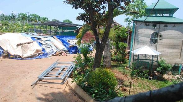 Thêm công trình của lãnh đạo sở Đắk Lắk trên đất nông nghiệp