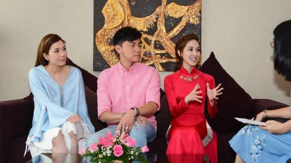 Hạo Nhiên, Khải Lâm, Trí Văn rất muốn sang Việt Nam đóng phim