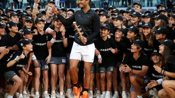 Nadal san bằng kỉ lục vô địch Masters 1.000 của Djokovic