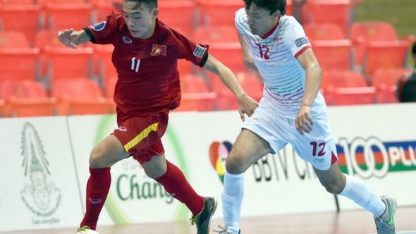 VN thắng trận đầu tiên ở giải U-20 futsal châu Á