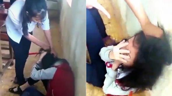 3 nữ sinh lớp 9 đánh bạn do ghen bị cho lưu ban