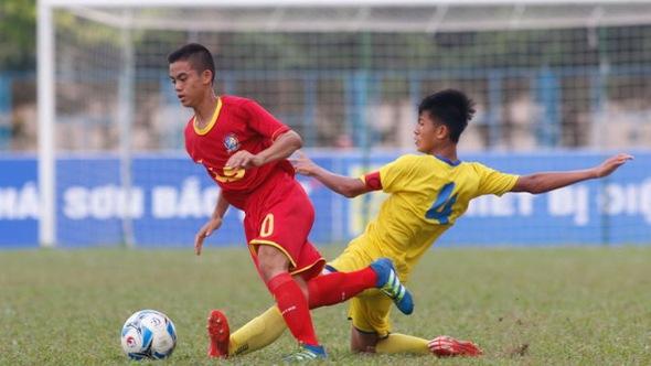 Cần uốn nắn hành vi phi thể thao của cầu thủ U-15 SLNA