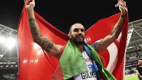 Guliyev bất ngờ đoạt HCV 200m