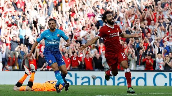 Liverpool đè bẹp Arsenal tại Anfield