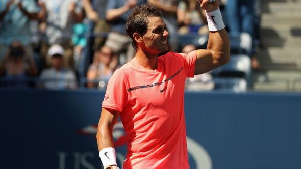 Nadal gặp tay vợt 19 tuổi Rublev ở tứ kết US Open