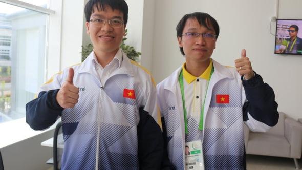 Đánh bại đội Trung Quốc, Quang Liêm và Trường Sơn giành HCV tạiAIMAG