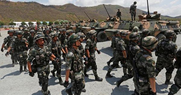 Tập trận Rồng vàng cùng Trung Quốc, Campuchia càng xa Mỹ
