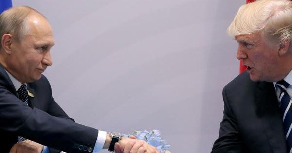 Ông Trump điện đàm, chúc mừng ông Putin sau bầu cử Nga?