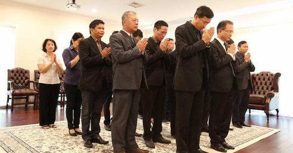 Bạn bè quốc tế viếng cố Thủ tướng Phan Văn Khải ở nước ngoài