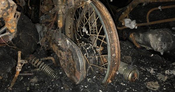 Hiện trường vụ cháy thảm khốc ở chung cư Carina