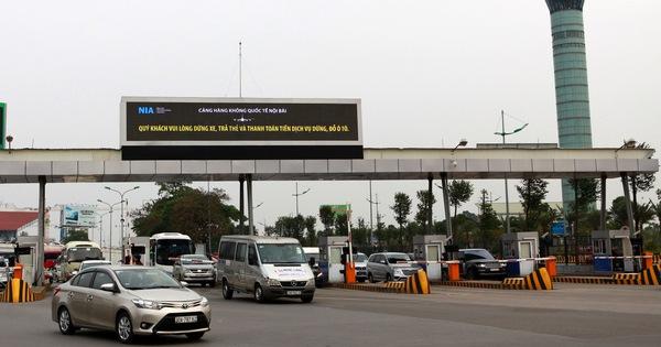 Ngành hàng không vẫn muốn thu phí ôtô vào sân bay