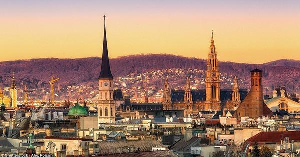 Thành phố Vienna có chất lượng sống tốt nhất thế giới