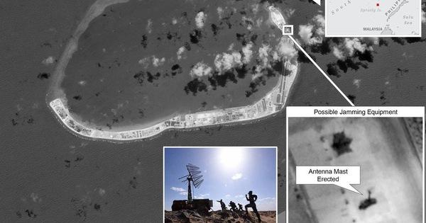 Trung Quốc bí mật lắp hệ thống gây nhiễu radar ở Trường Sa