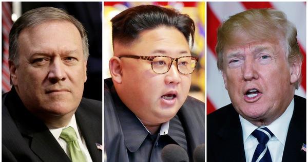 Ông Trump ca ngợi cuộc gặp tuyệt vời của giám đốc CIA và lãnh đạo Triều Tiên