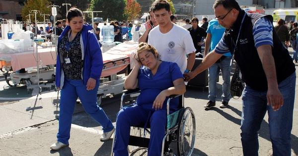 Nổ khí gas, thổi bay cả góc bệnh viện Chile