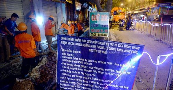 Ngầm hóa lưới điện để giảm… tai nạn
