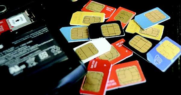 3 mạng viễn thông dừng phát hành sim điện thoại từ hôm nay 1-6