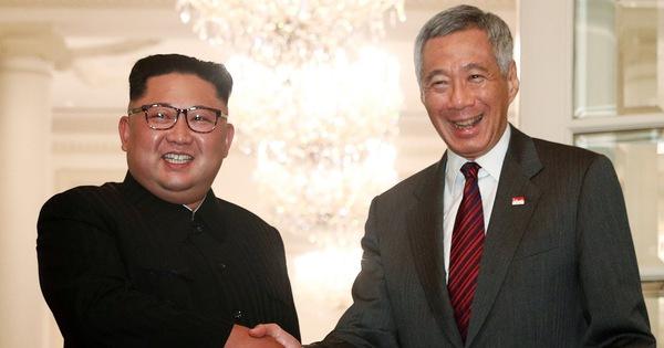 Kim Jong Un gặp mặt và làm việc cùng Thủ tướng Singapore