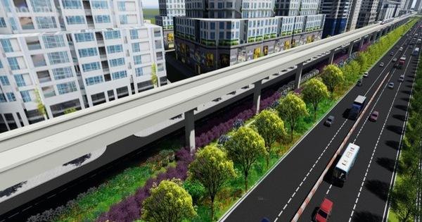 Tuyến metro số 1 sẽ được phủ xanh dọc chiều dài 14,7km