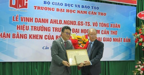 Bộ Ngoại giao Nhật Bản vinh danh GS.TS Võ Tòng Xuân