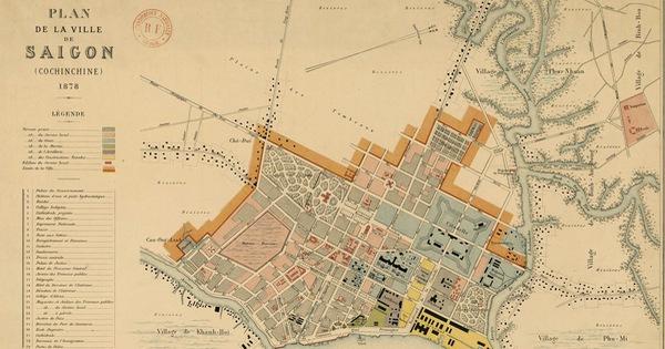 Xem triển lãm bản đồ và hình ảnh hiếm có của Sài Gòn xưa