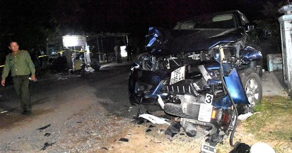 Xe bán tải gây tai nạn ở Phú Yên: vợ nguy kịch, chồng gãy đốt sống cổ