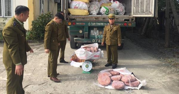 Bắt giữ xe chở 11 tấn nội tạng heo bốc mùi từ TP.HCM ra Quảng Ninh - kết quả xổ số đồng tháp