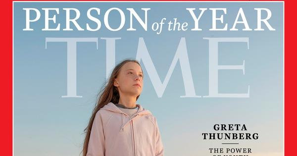 Tạp chí Time vinh danh nữ sinh Greta Thunberg