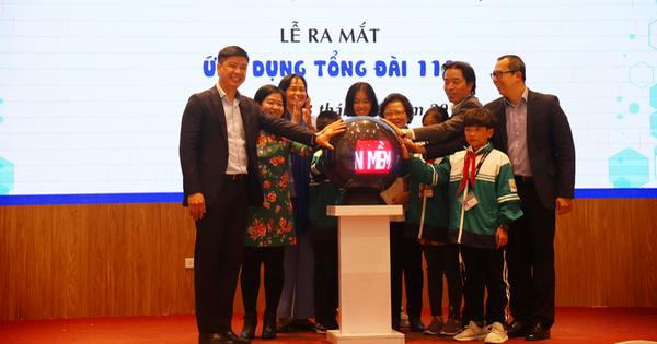 Công bố ứng dụng bảo vệ trẻ em ''Tổng đài 111''