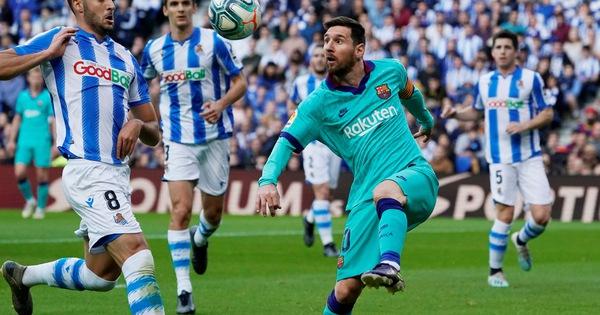 Messi chơi mờ nhạt, Barcelona bị cầm chân