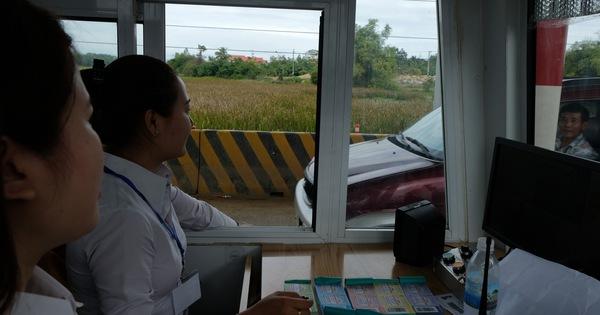 BOT Ninh Xuân buộc phải xả trạm sau ít giờ thu phí trở lại