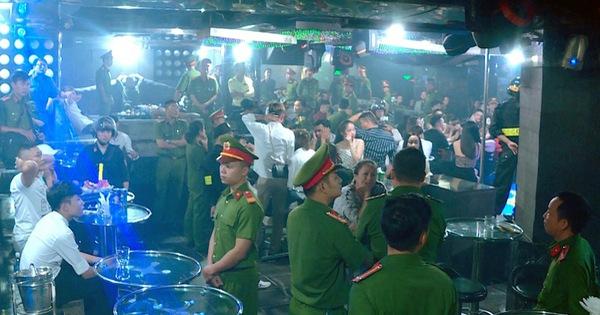 Bắt nhiều người 'phê' ma túy trong vũ trường Lodge ở Nha Trang
