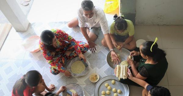 Tết về quê ngoại, thưởng thức bánh phồng nhân cơm dừa - xổ số ngày 13102019