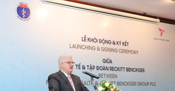 Tổng giám đốc RB Việt Nam: Chúng tôi muốn thấy trẻ em Việt Nam có khởi đầu tốt nhất