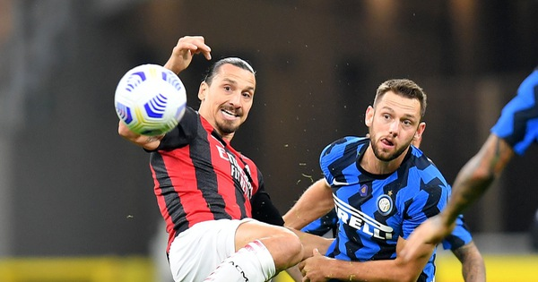 Trở lại sau khi mắc COVID-19, Ibrahimovic lập cú đúp giúp AC Milan thắng trận derby Milan