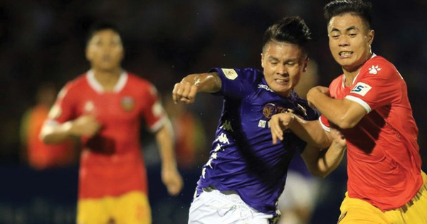 Lịch trực tiếp V-League 20-10: Quảng Nam rớt hạng? Hà Nội gặp Hà Tĩnh