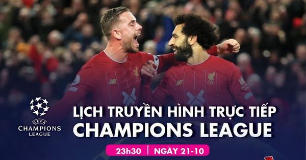 Lịch trực tiếp Champions League ngày 22-10: Bayern - Atletico Madrid